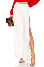 Lovers + Friends Take It Higher Pant in Ivory