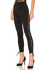 Lovers + Friends Laced and Lovely Legging in Black
