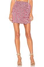 Lovers + Friends X REVOLVE Lisa Skirt in Red Gingham