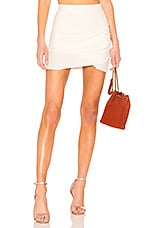 Lovers + Friends Voyage Skirt in Ivory