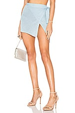 Lovers + Friends Shine Bright Skirt in Cool Blue