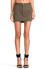 for REVOLVE Weekend Mini Skirt in Army Green