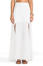 Pandora Maxi Skirt in White