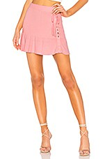 Lovers + Friends Queen Skirt in Blush
