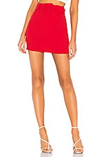 Lovers + Friends Lewis Skirt in Red