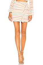 Lovers + Friends Lisa Skirt in Spring Rainbow