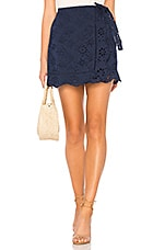Lovers + Friends Thea Skirt in Deep Navy