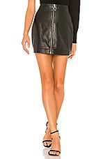 Lovers + Friends Ashton Mini Skirt in Black
