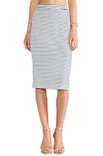 Day To Night Pencil Skirt in Stripe