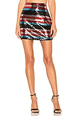 Lovers + Friends Donna Mini Skirt in Multi
