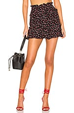 Lovers + Friends Nova Mini Skirt in Lil Hearts
