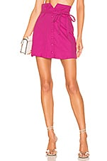 Lovers + Friends Harmony Skirt in Magenta