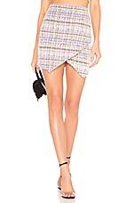 Lovers + Friends Dagny Skirt in Cream Multi