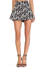 Tatum Skirt in Black & White