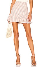Lovers + Friends Jacqueline Mini Skirt in Blush