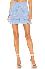 Lovers + Friends Jana Skirt in Powder Blue