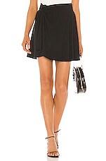 Lovers + Friends Hanna Skirt in Black