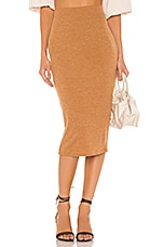 Lovers + Friends Cameron Skirt in Camel