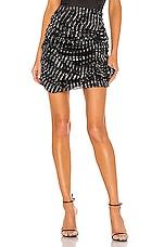 Lovers + Friends Lyra Mini Skirt in Black