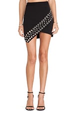 New York Mini Skirt in Black