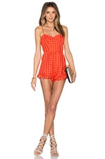 Lovers + Friends x REVOLVE Gabriella Romper in Red