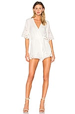 Lovers + Friends Brixton Romper in Ivory