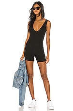 Lovers + Friends Tommie Romper in Black