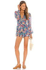 Lovers + Friends Sybil Romper in Rose Garden Floral