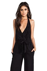 Oh Darling Playsuit in Black