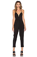 Lovers + Friends Forgiven Jumpsuit in Black