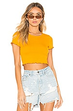 Lovers + Friends Candice Top in Honey Yellow
