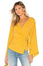 Lovers + Friends Clarese Top in Honey Yellow