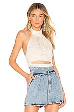 Lovers + Friends Aster Top in Ivory