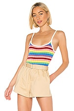Lovers + Friends Brighter Days Tank in Rainbow