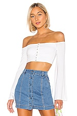 Lovers + Friends Alessandra Top in White