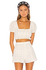 Lovers + Friends Leah Top in White