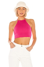 Lovers + Friends Roxie Halter Top in Candy Pink