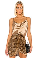 Lovers + Friends Rhode Cami in Gold