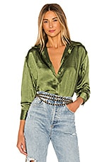 Lovers + Friends Salina Top in Olive Green