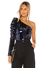 Lovers + Friends Shaline Top in Sapphire Blue
