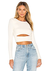 Lovers + Friends Clea Top in Ivory