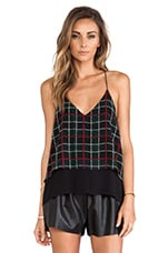 Lovers + Friends Poppy Cami in Plaid