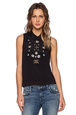 Lovers + Friends First Love Top in Black
