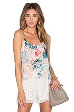 Baciami Top in Paradise Floral