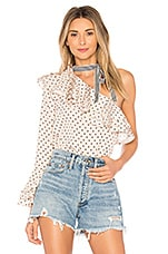 Lovers + Friends Maya Top in Star Print