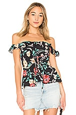 Lovers + Friends Dawn Top in Bold Floral