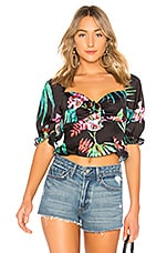 Lovers + Friends Winnie Top in Miami Floral