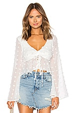 Lovers + Friends Lily Top in Off White