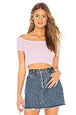 Lovers + Friends Jet Sweater Top in Lilac