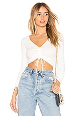 Lovers + Friends Heather Top in White